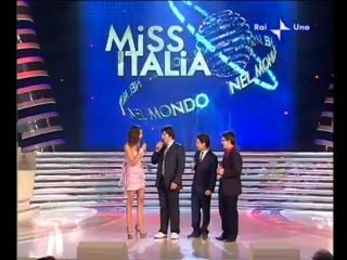 Il volo perform on miss italia nel mondo 2009