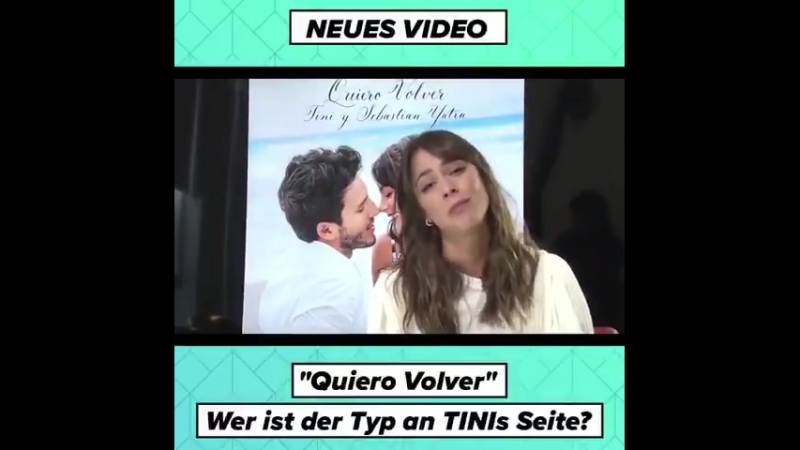 TINI promoting Quiero Volver on Digster Pip