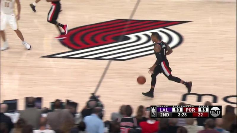 Los Angeles Lakers vs Portland Trail Blazers Best Moments (2017.11.02.)
