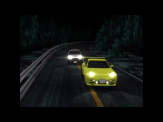 Running in the 90s clip in Initial D First Stage HD