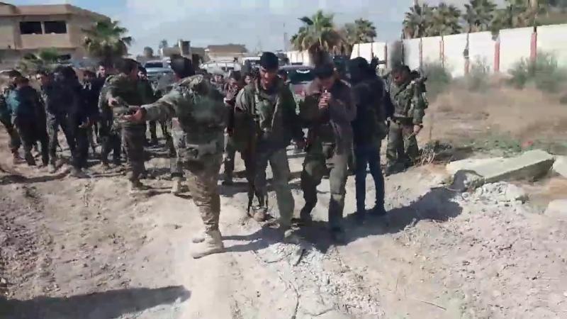 Герои группы Ат-Тармах полка Аль-Хайдар Tiger Forces отвечают призыву и новым задачам в Восточной аль-Гуте