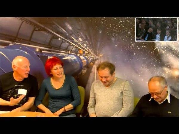 Видеоконференция с ЦЕРН в московском Дворце пионеров 11.10.2014