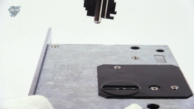 Распаковка врезного сувальдного замка V25/S-60 от FUARO.