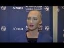 Человекоподобный робот София говорит, что «недостаточно умна» новости.mp4