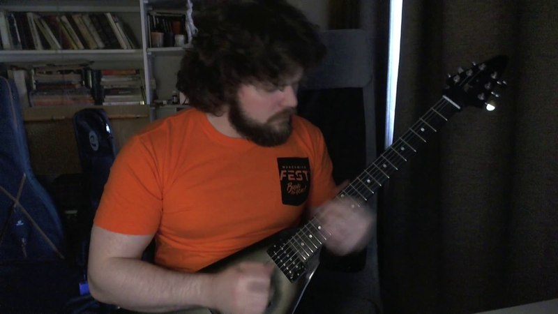 Metallica Ride the Lightning solo cover
