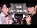 3DIO ASMR 쌍둥이 귀청소 Twin Ear Cleaning Male ASMR
