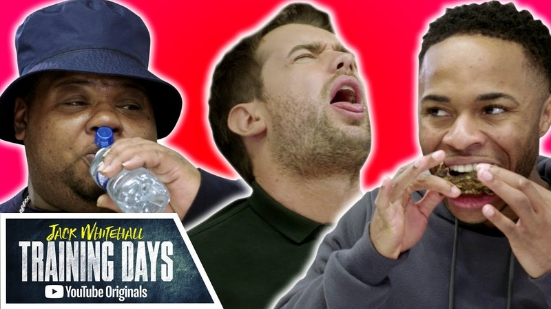Jack Whitehall: Training Days 1x18 - Raheem Sterling vs. Big Narstie in HOT WING CHALLENGE
