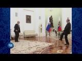 Владимир Путин и президент FIFA сыграли в футбол