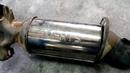 Удаление старого катализатора замена на пламегаситель воронкообразного типа на Citroen C4