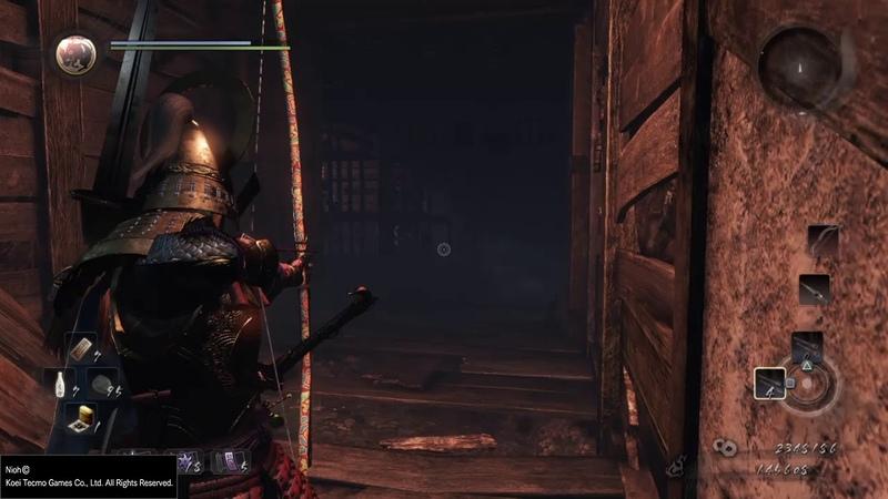 Прохождение Nioh - Самурай из Саваямы. Босс Темнокожий самурай 47