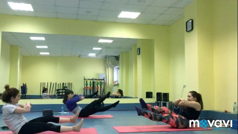Stretching Тянем поперечный шпагат