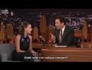 RUS SUB Millie Bobby Brown Gets Goosebumps from Her Season 2 Stranger Things Kiss