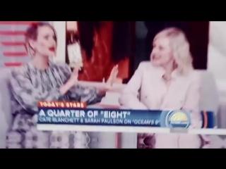 Sarah Paulson & Cate Blanchett vine