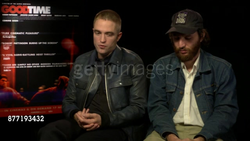 Getty: Robert Pattinson, Joshua Safdie on telling a story on working class criminals at Good Time Interview