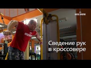 Упражнение на грудь Сведение рук в кроссовере с Антоном Ларионовым