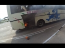 Загорелся автобус 22 июля в 9:20 под Севастополем, в районе поселка Сахарной Головки