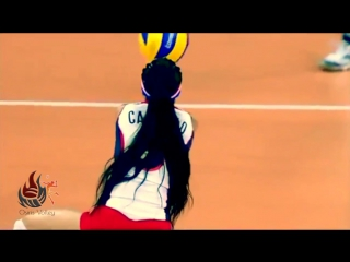Brenda Castillo ♔ Unvelievable Volleyball Actions ᴴᴰ ®