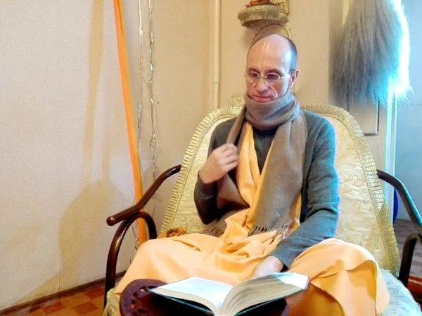 Е.С. Бхагаватамрита Кешава Махарадж ШБ 1.8.23-25 Актау 01.04.18 часть 1