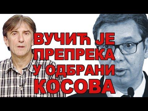 Milivojević: Vučić je glavna prepreka u odbrani Kosova - RasPravda Cvijetin Milivojevic