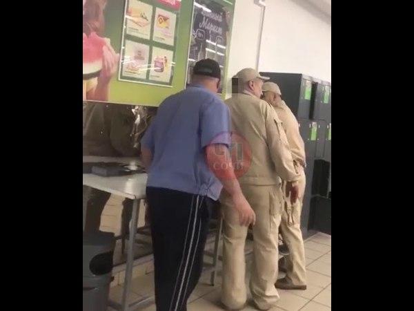 В Сочи охрана супермаркета применила к школьнику чрезмерную силу
