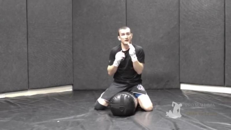 БИЕО_Training_MMA_Ground_Pound_On_A_Punch_Bag
