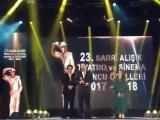 Мерт на 23 церемонии награждения Sadri Alisik Theater & Cinema Awards (2017-2018 г.)_1