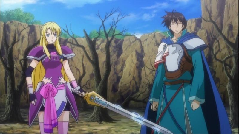 Легенда о легендарных героях / Densetsu no Yuusha no Densetsu / The Legend of the Legendary Heroes - 9 серия [Ancord]