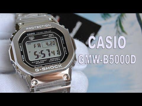Обзор CASIO GMW B5000D 1ER стальные 5000 е Модель 2018 года