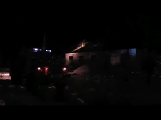 Пожар в гаражном массиве 11.11.17