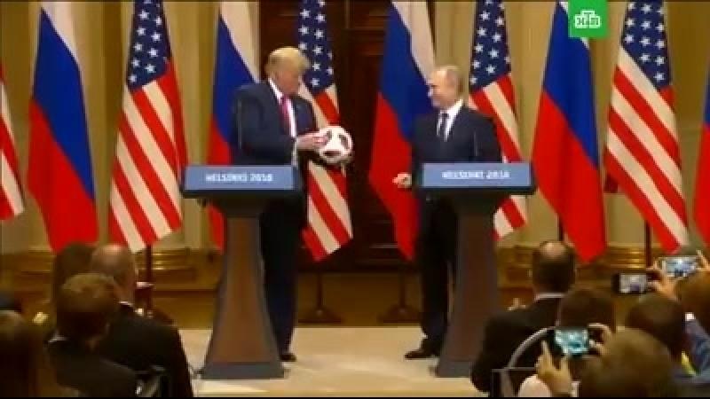 Путин передаёт эстафету Трампу n