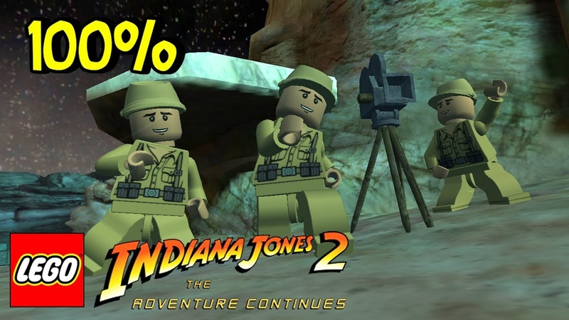 100% Прохождение Lego Indiana Jones 2 Adventure Continues — 1 Часть.
