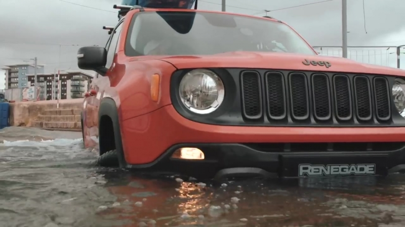 World First_ Jeep Renegade Drives Olympic-Standard White Water Rafting Course
