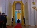 Entrée de Vladimir Vladimirovitch Poutine au Kremlin