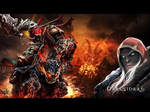 Война: Ангелы и демоны ИГРОФИЛЬМ Darksiders сюжет игры приключения на русском