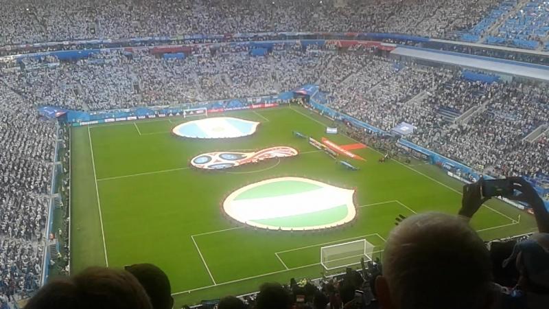 Аргентина-Нигерия. Гимн Аргентины