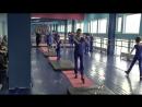 Контрольный урок по акробатике у средних парней 24.12.2017 Часть 1