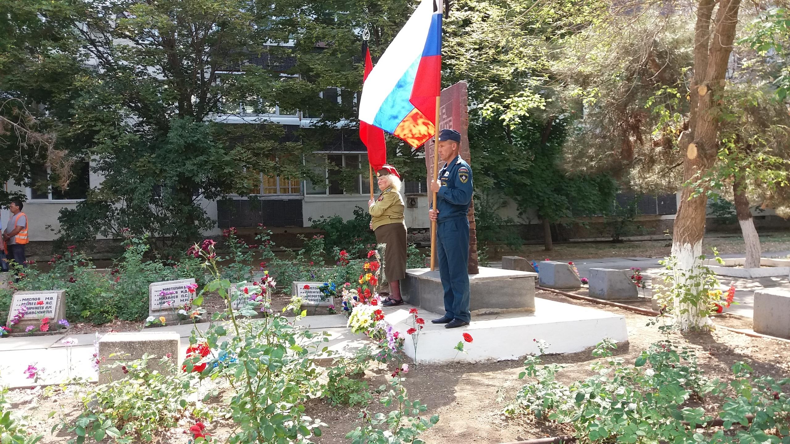 В Армянске состоялся митинг в честь началу Великой Отечественной Войне (Фото)