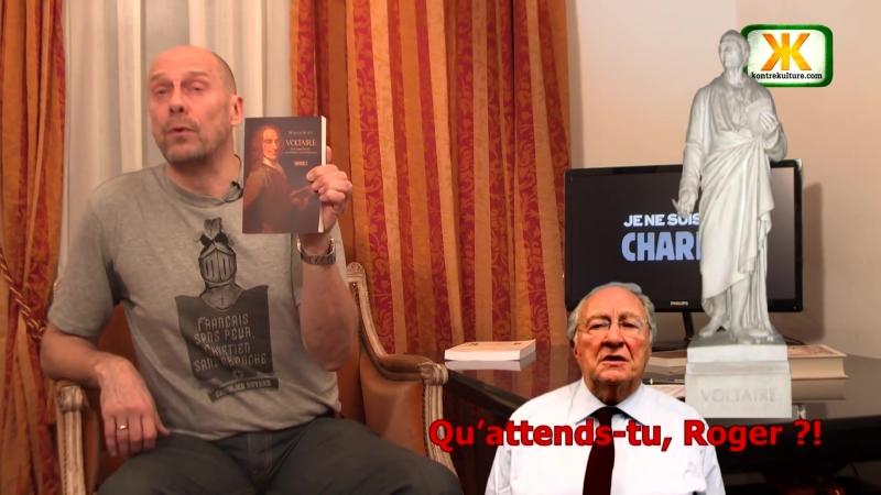 Alain Soral présente Voltaire Une imposture au service des puissants de Marion Sigaut