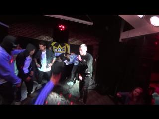 первое появление opt'a при поддержке Zhardem'a [grammy rap fest] 03.11.2017