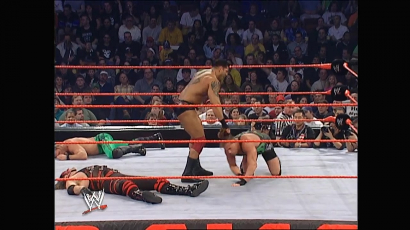 Batista vs. Kane vs. Chris Jericho vs. RVD Raw 2003