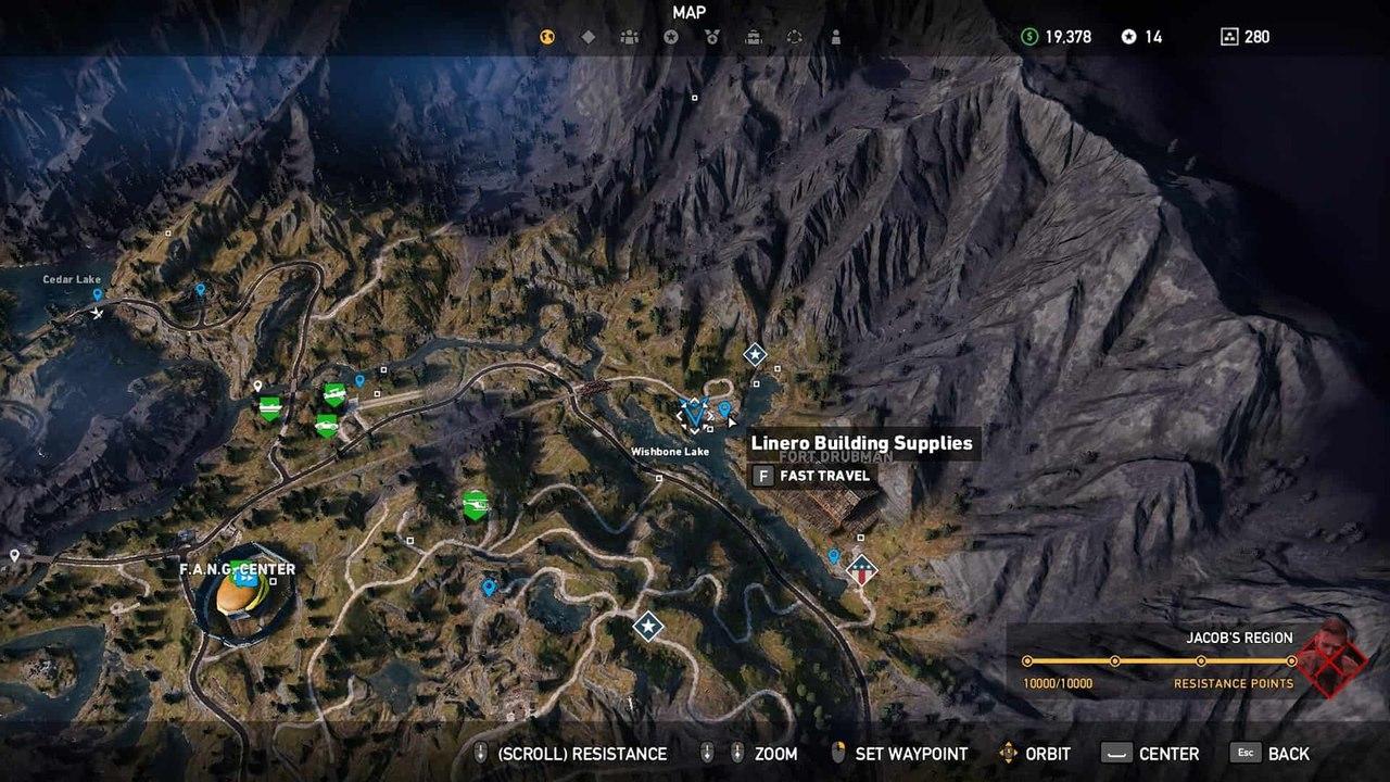 строительные материалы Linero в Far Cry 5