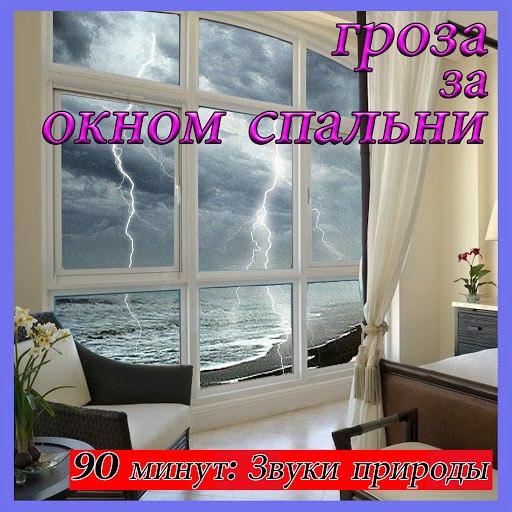 Звуки Природы альбом Гроза за окном спальни: 90 минут: Звуки природы