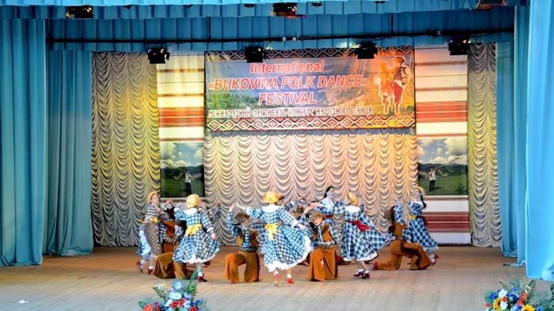 ИЗ ЖИЗНИ КОВБОЕВ - 2018 - на Конкурсе фестиваля BUKOVINA FOLK DANCE, ансамбль РАДУГА, г. Днепр