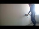 шлифовка стен без пыли