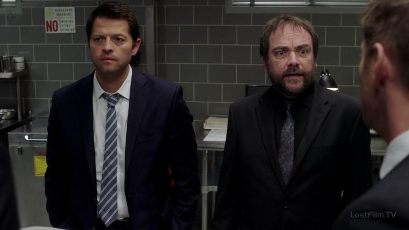 Supernatural 12х08 коллеги