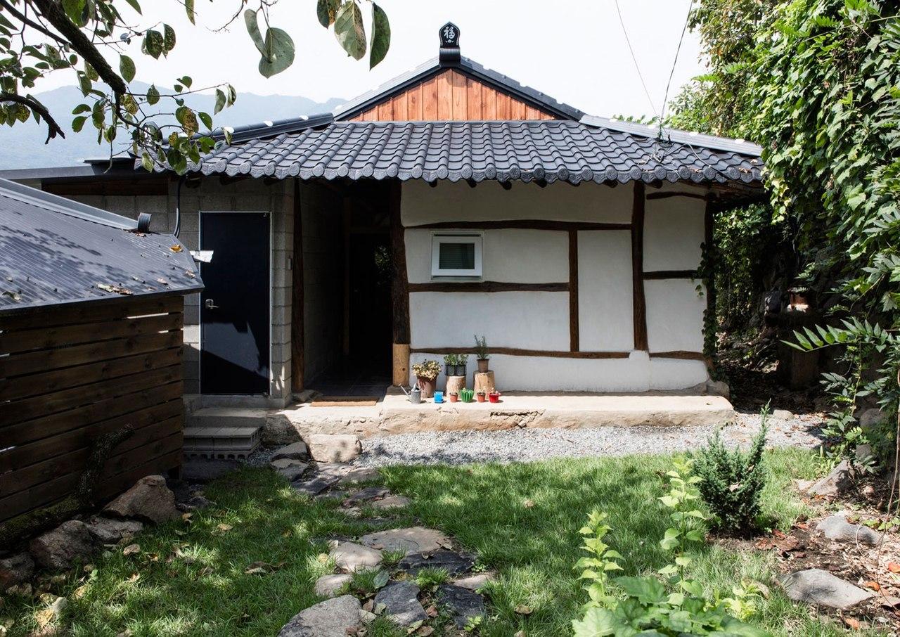 Частный дом в Южной Корее