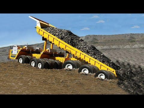 10 Extreme Dangerous Biggest Haulage Truck Wheel Loader, Worlds Most Powerful Heavy Truck Excavator