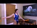 Bondage Junkies - Self Bondage Challenge Rachels Leg Stand