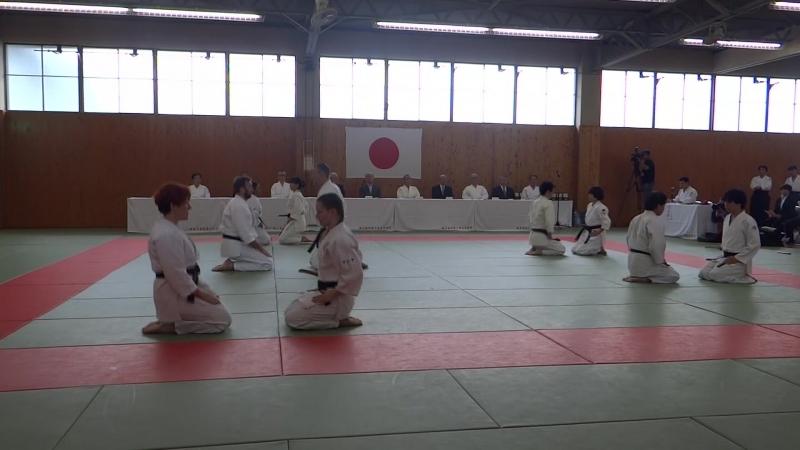 Tanto Soho __ 2nd Intrnational Yamanashi Yoshinkan Aikido Demonstration 2017_1