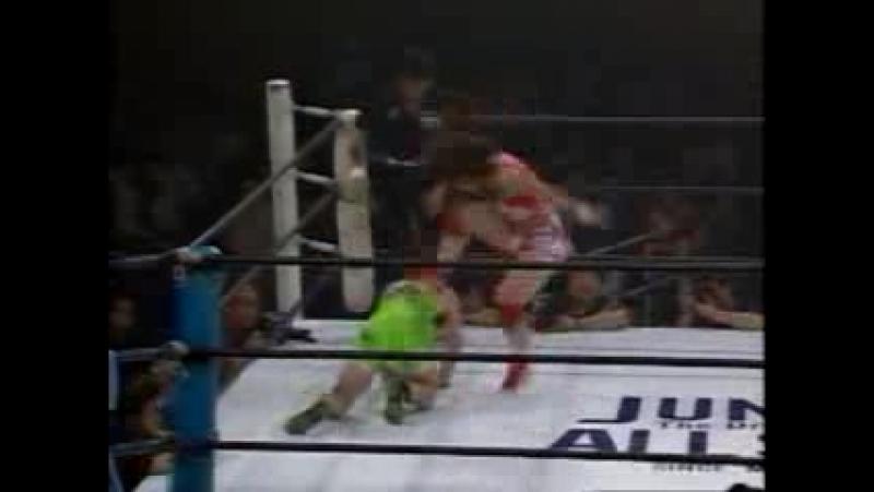 8. Saya Endo vs. Tomoko Miyaguchi (5181994)